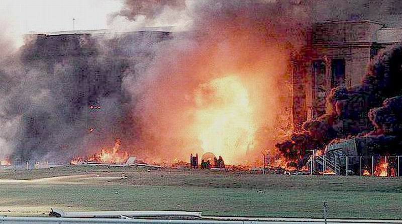 Explosion im Pentagon an 9/11
