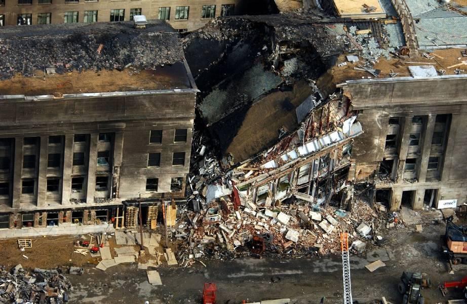 Einsturzkante des Pentagon an 9/11
