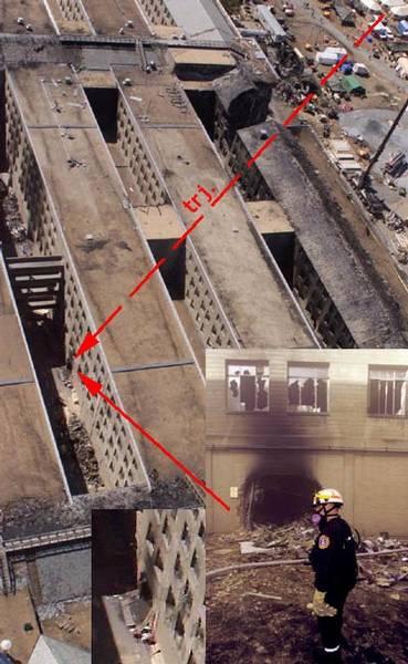 Loch im Pentagon an 9/11