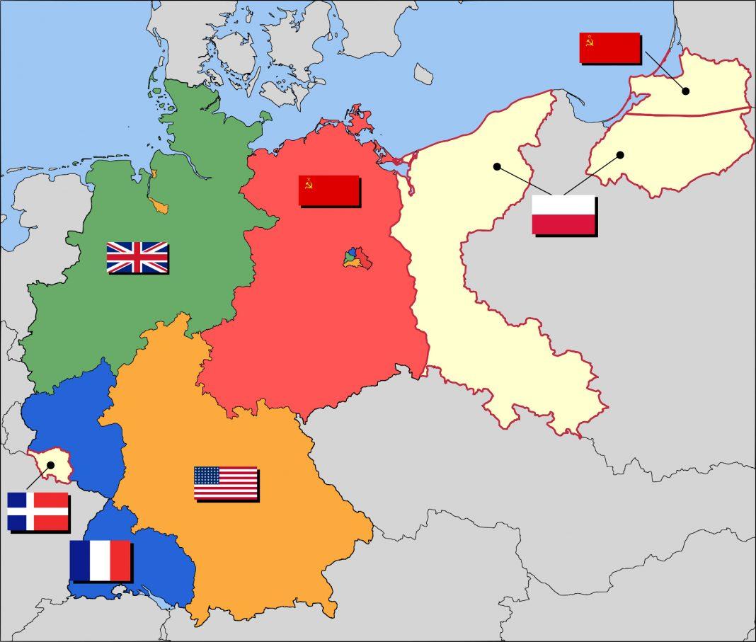 Grenzen der Besatzungszonen in Deutschland, 1947