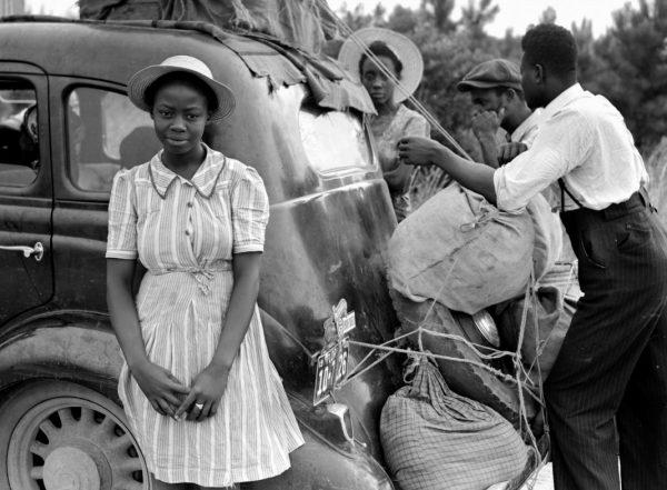 Sklavenhaltung in der Nähe von Shawboro, North Carolina.