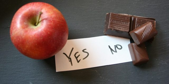 Apfel statt Schokolade bei Zuckerentzug
