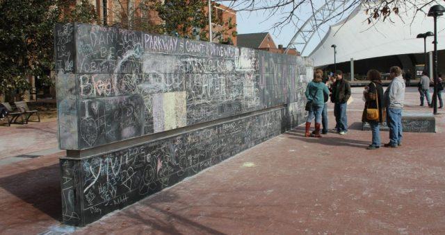 Free Speech Wall - Mauer zur Meinungsfreiheit