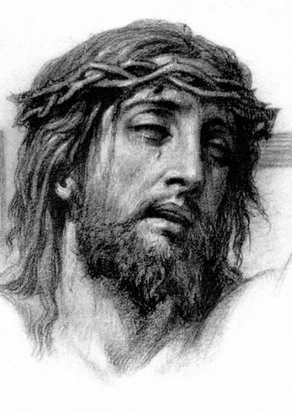 Das Gesicht von Jesus