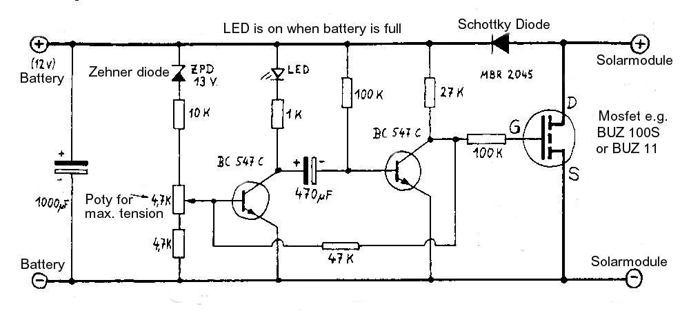 Stromkreis-Zeichnung