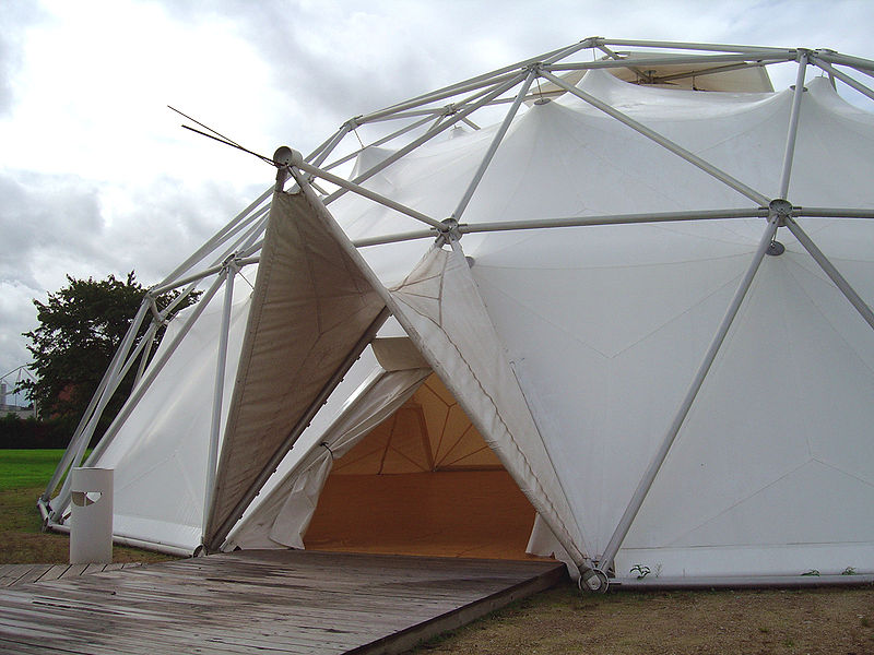 Tent-type Charter-Sphere dome