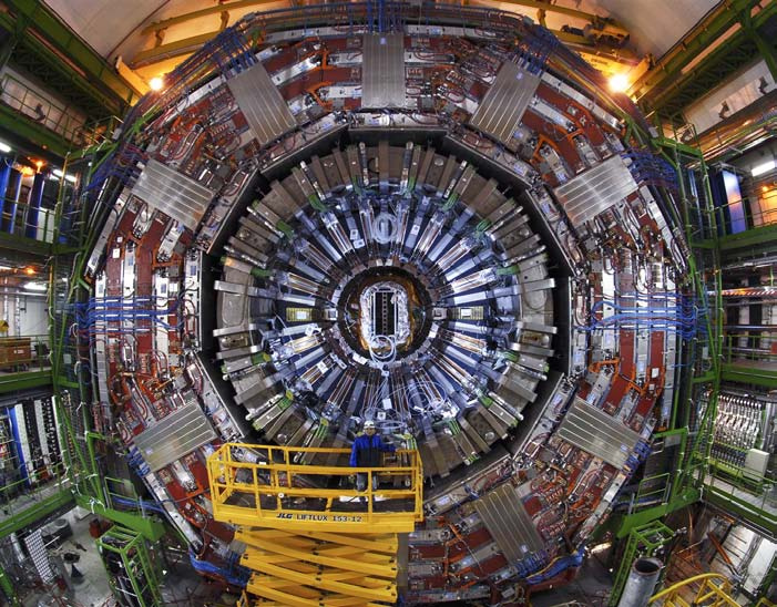 A view of the CMS experiment at CERN
