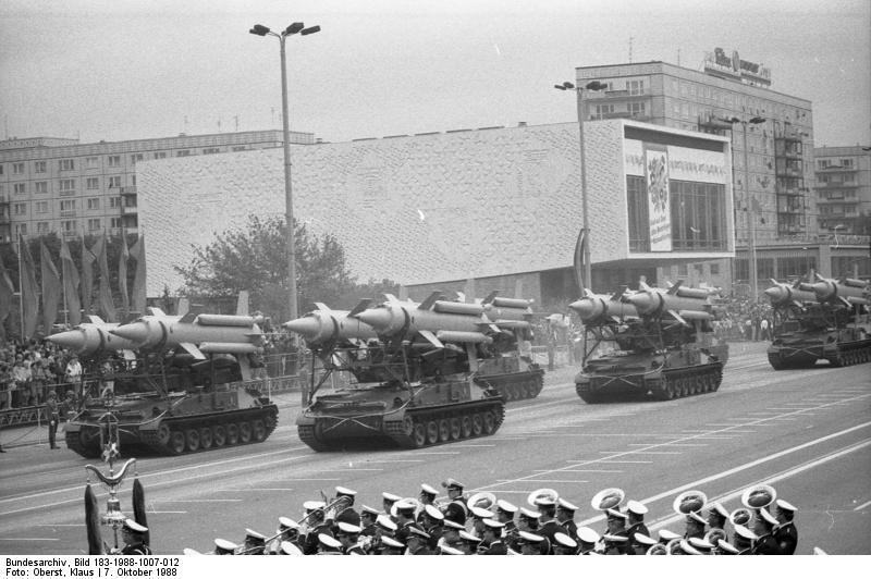 Berlin, 39. Jahrestag DDR-Gründung, Parade