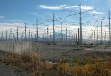 HAARP Antenna Array north of Gakona, Alaska. Courtesy Michael Kleiman, US Air Force.