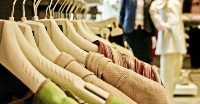 Grüne Mode im Shop