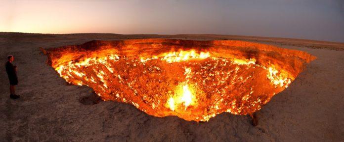 Der Krater von Derweze (Das Tor zur Hölle)