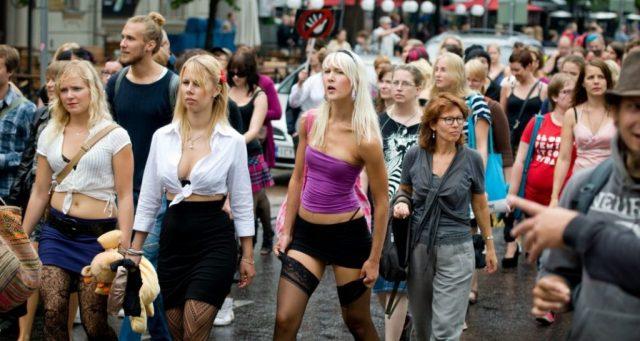 Slut Walk in Helsinki 2011
