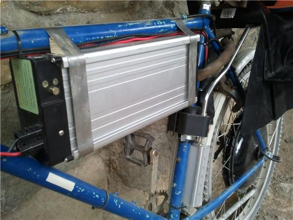 Batterie vom Solar-E-Bike