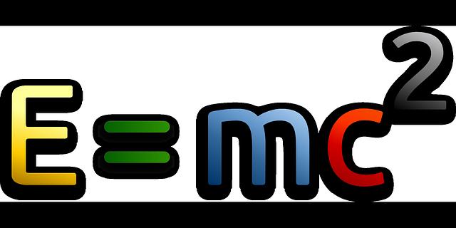 einstein-formel E=mc²