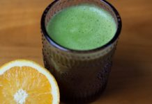 Top Winter Food: Green Smoothie