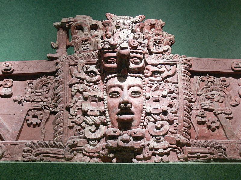 Maske der Maya Kultur