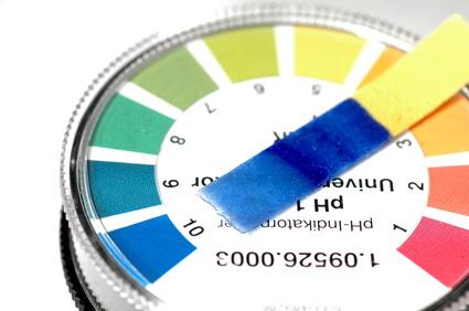 pH Wert Teststreifen für eine basische Ernährung