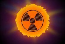 Zeichen der Radioaktivität in der Sonne