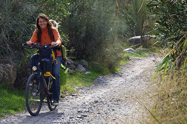 Solar-E-Bike in den spanischen Bergen