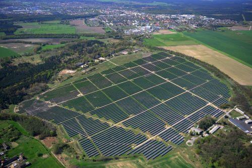 Solarpark Flugplatz Fürstenwalde