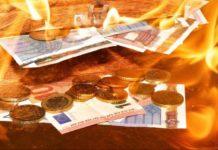 Brennendes Bargeld