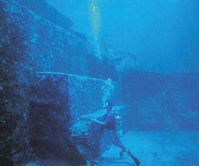 Unterwasser-Pyramide in Japan, Yonaguni