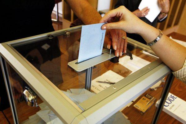 Wahlurne bei Wahlen