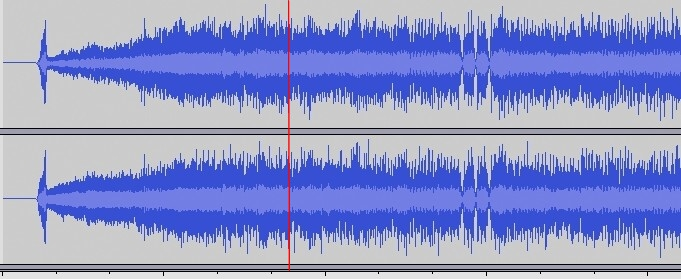 Waveform von Metallica, My Apocalypse
