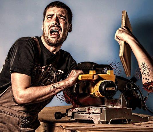 Spezielle Arbeitsunfälle - Matt sägt sich den Arm ab