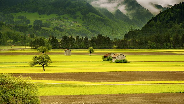 Landschaft in Indonesien