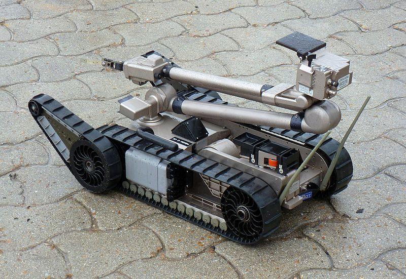 Spanish Army iRobot PackBot 510 IED robot