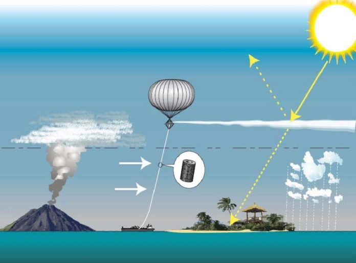 Geoengineering - hier SPICE: Solar Radiation Management