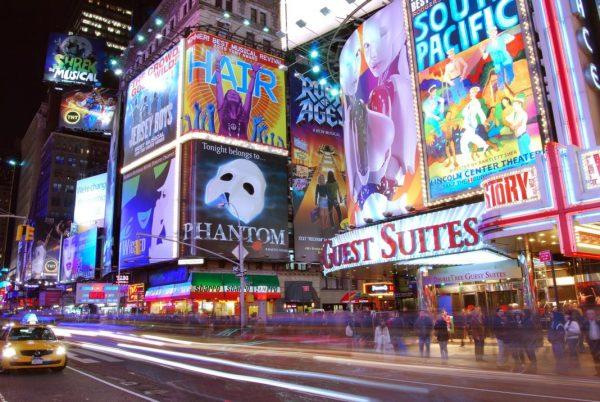 Billboards / Werbung am Times Square, New York