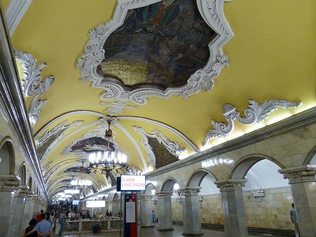U-Bahnhof in Moskau