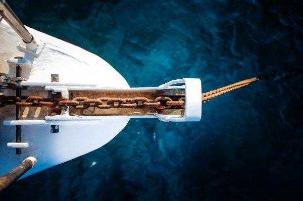 Anker stetzen - Anchoring