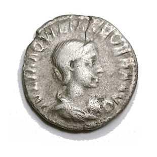 Am Anfang noch aus purem Silber, war der Denar am Ende nur noch aus Kupfer, mit einem hauchdünnen Silberüberzug.