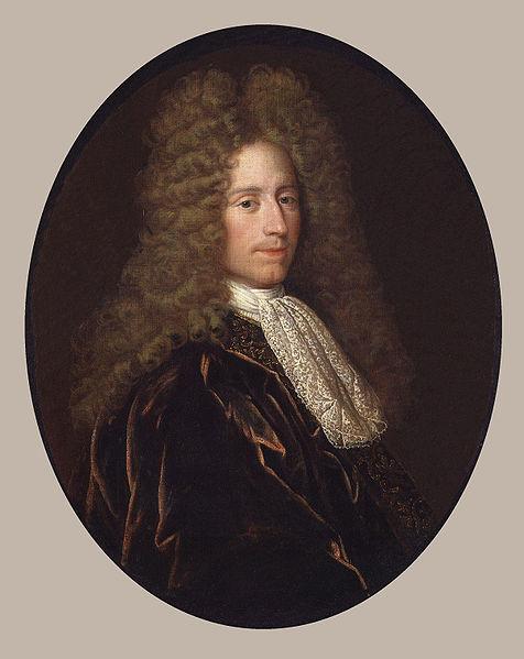 John Law in seiner Zeit als Direktor der Banque Royale