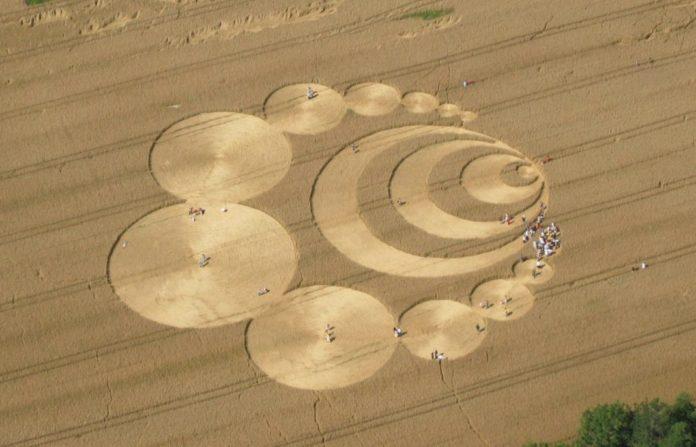 Kornkreise in der Schweiz