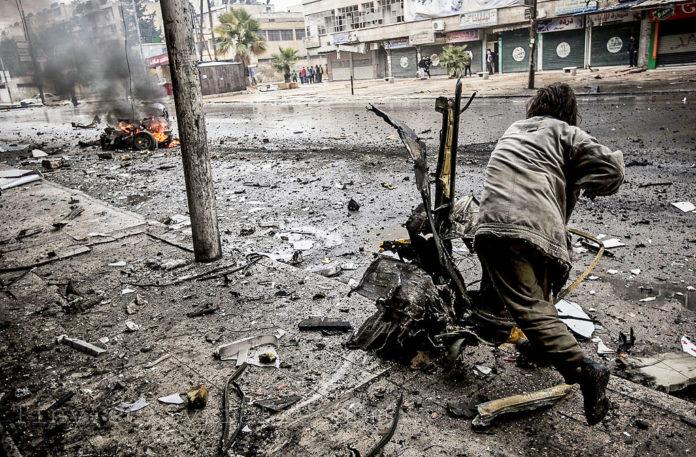 Aleppo on December 17, 2012