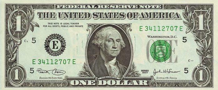 Ein US-Dollar