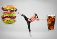 Fit, fitness, fast food.