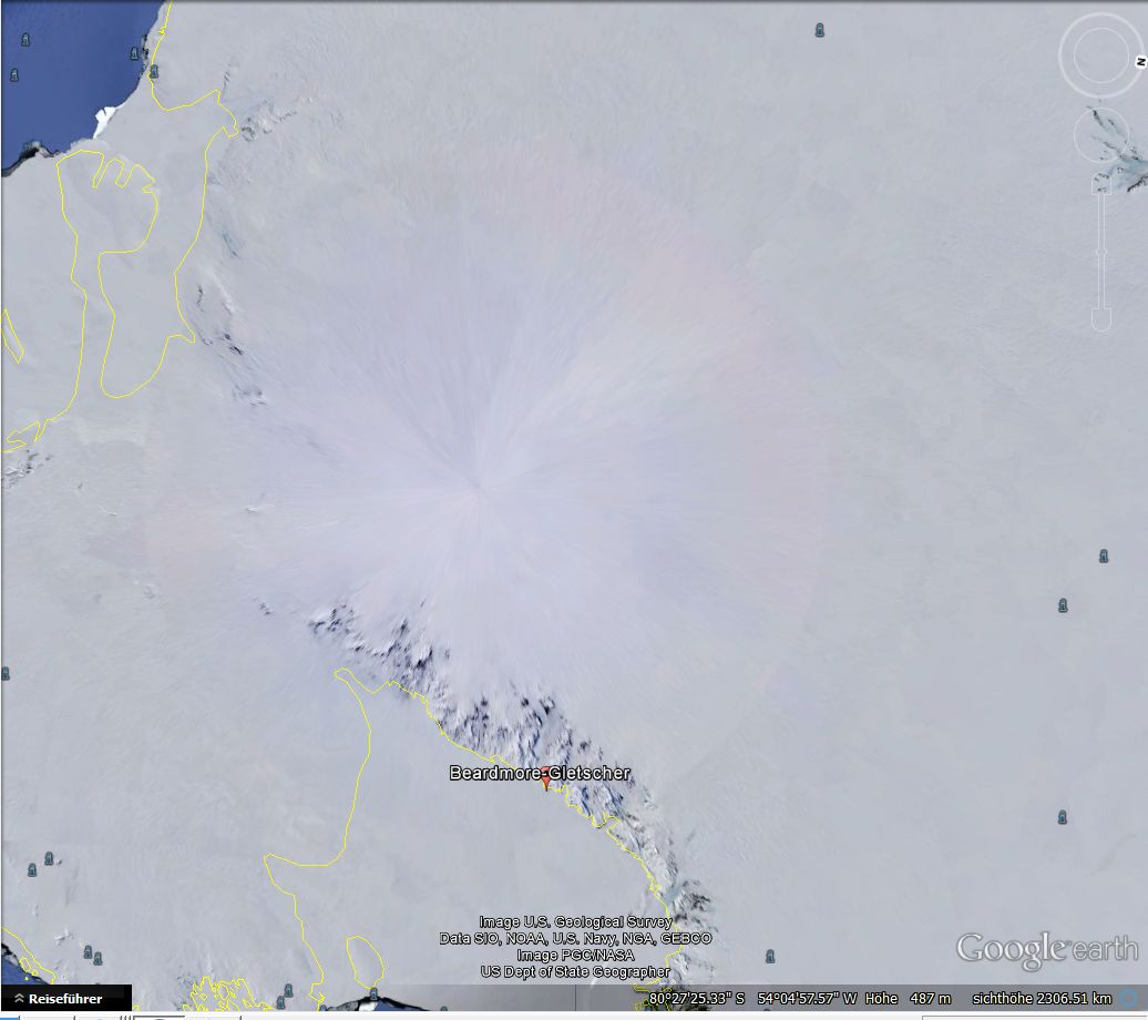 Der Kreis um die Antarktis