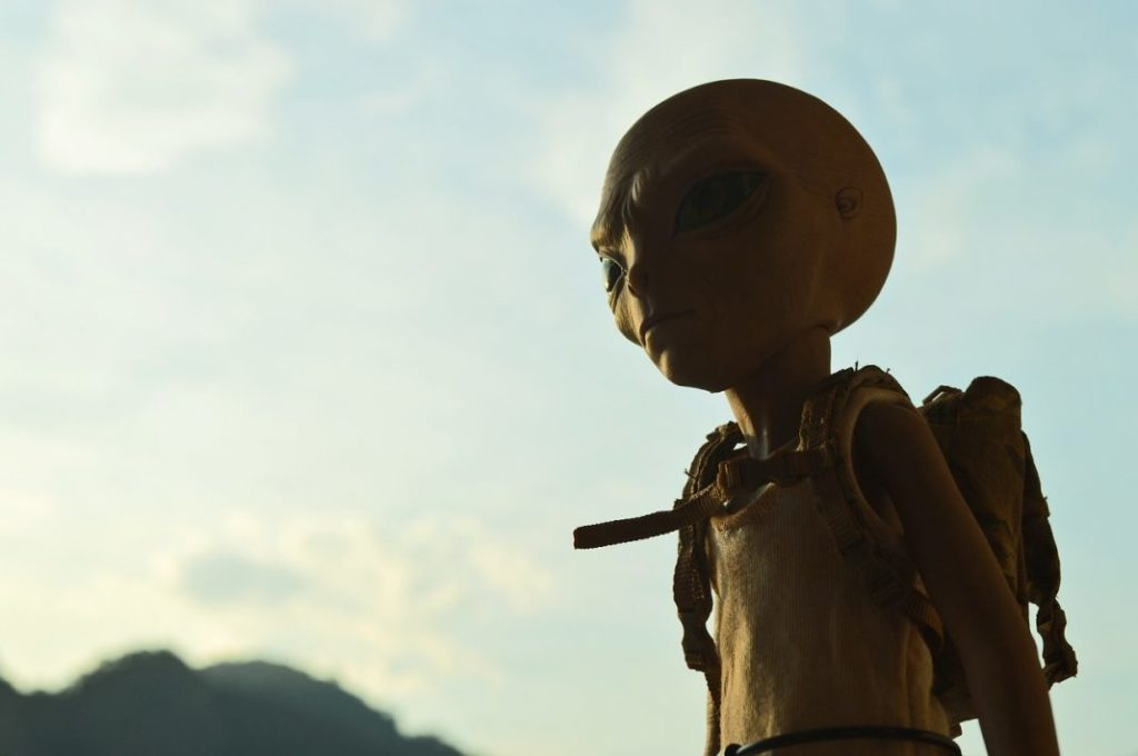 Alien sucht NASA Touristenauskunft