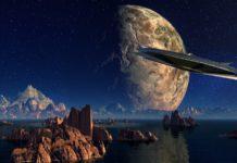 UFO, NASA, Flache Erde