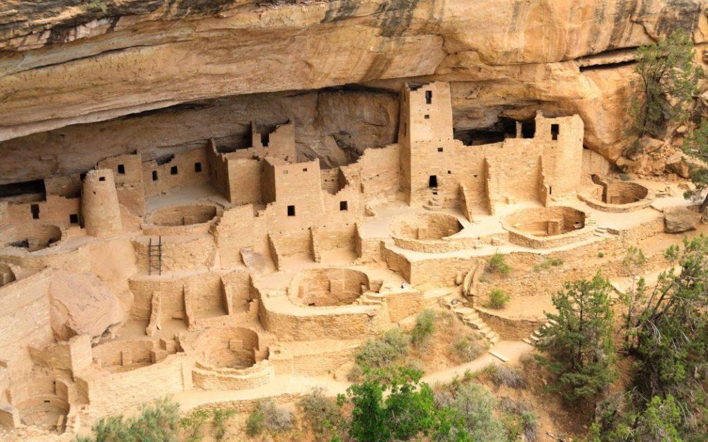 Verlassene Anasazi Siedlung, Mesa Verde