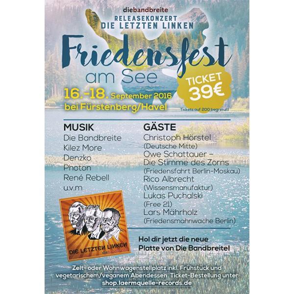 friedensfest am see ticket