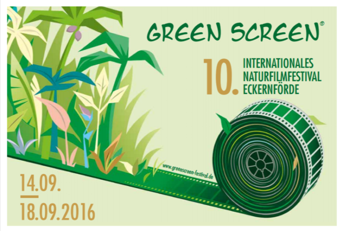 10. Internationale Naturfilmfestival in Eckernförde von Green Screen am 14.-18. September 2016