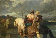 Evariste-Vital Luminais (1821–1896) Gotengemälde waren in Frankreich sehr populär und sind ein mögliches Vorbild