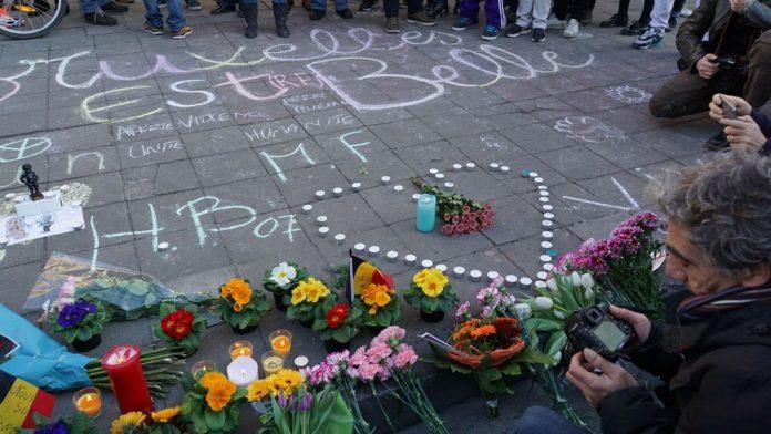 Brüssel nach Gewalt und Terror