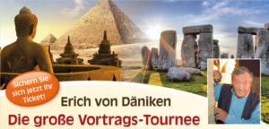 Erich von Däniken Die große Vortrags-Tournee